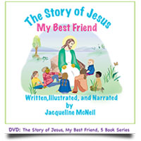 The Story of Jesus, My Best Friend DVD