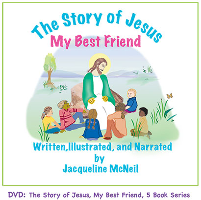 The Story of Jesus - My Best Friend DVD by Jacqueline McNeil