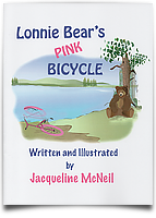 Lonnie Bear's Pink Bicycle
