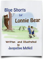 Blue Shorts for Lonnie Bear